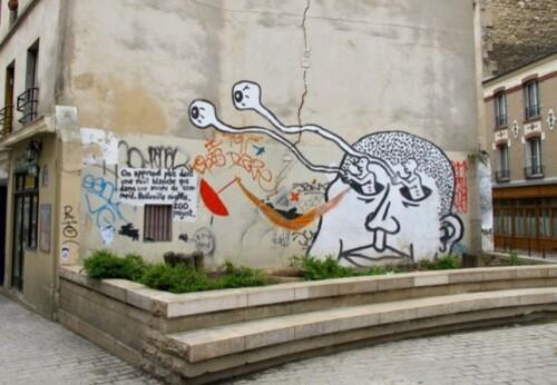 Zoo Project street-art Ménilmontant