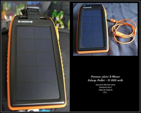 Panneau solaire Solargo-Pocket-15000