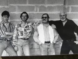 Le début d'une longue histoire avec Fabrice, Jean-Pierre, Bob et Fran6