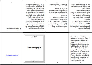 Nouveau service en ligne pour imprimer des mini-livres au format A4
