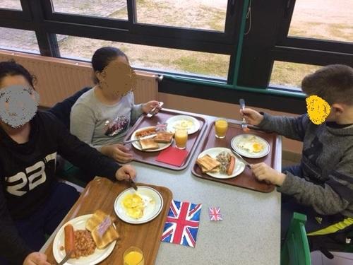 Petit déjeuner anglais à la SEGPA