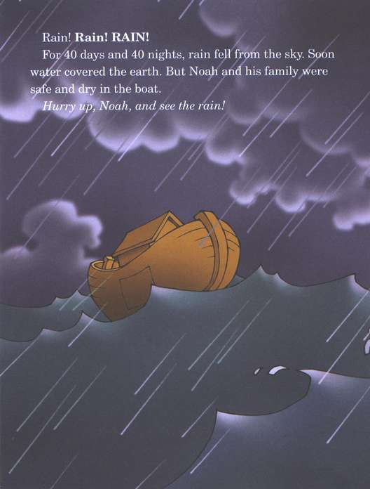 Happy Day Books, Bible Stories: Hurry Up, Noah!