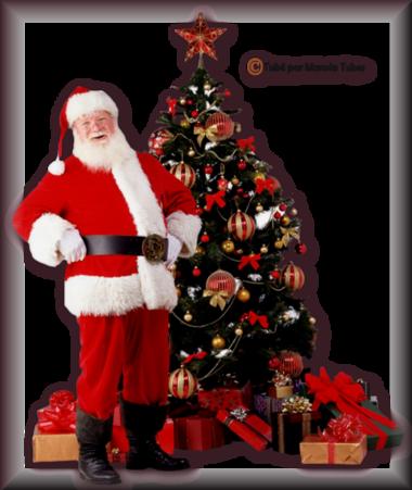 Tube Père-Mère Noel 2986