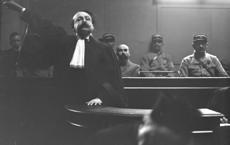 Procès de Landru (Agence Rol. Novembre 1921)