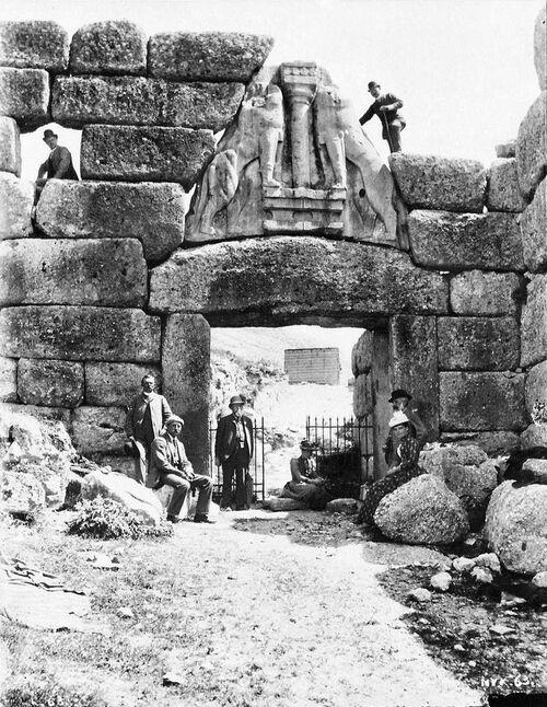 Patrimoine mondial de l'Unesco : Mycènes et Tirynthe - Grèce