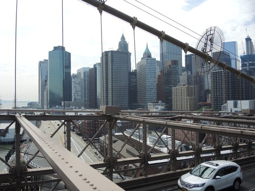 NEW YORK 2016- Jour 6- Brooklyn Bridge