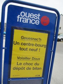 Un centre bourg tout neuf à Gouesnac'h