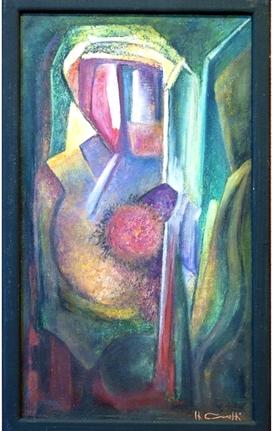 Un petit nouveau rejoint le Gadha: Hubert Caretti, Peintre à la cire