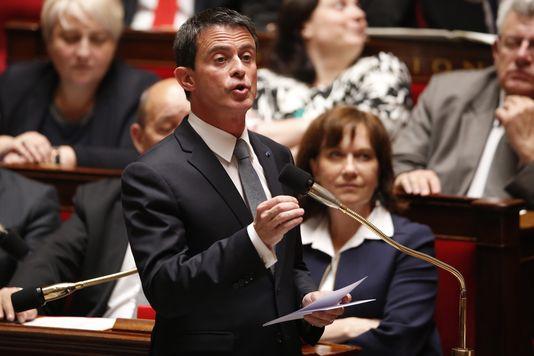 Manuel Valls, à l'Assemblée nationale, le 25 mai 2016.