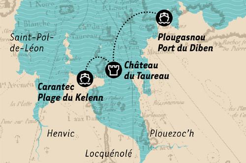 Voyager en Images 3:  Le Château du Taureau