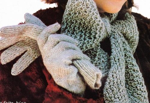 Bonnet, écharpe et gants