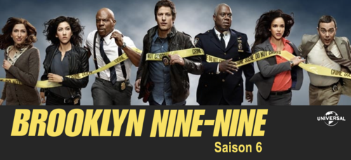 Brooklyn Nine-Nine - Saison 6 - Le 11 septembre 2019 en coffret DVD