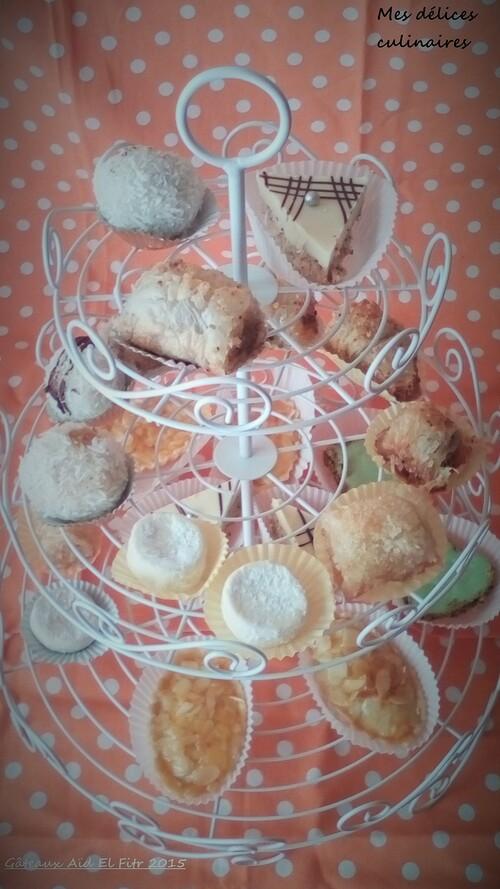Gâteaux Aïd El Fitr 2015