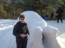 Classe de neige des CM