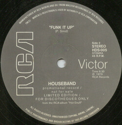 Houseband - Funk It Up
