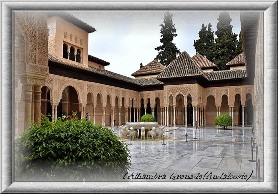 ♥ L'Alhambra Andalousie ♥