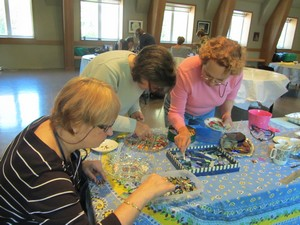Atelier de mosaïque de Monica Brinkman