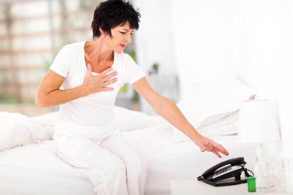 Découvrez les symptômes d'une crise cardiaque