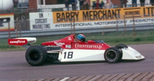 Surtees TS/19 - Ford Cosworth DFV V8 3.0
