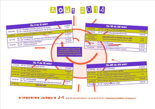 Planning août 2014