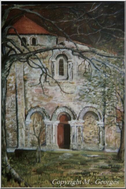 Invitation . Eglise de Touvre 16  par M . Georges
