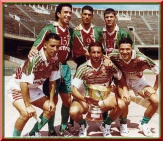 MCA vainqueur de la coupe concorde civile 1999-2000