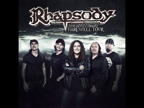 RHAPSODY REUNION - Le concert du Sweden Rock Festival 2017 disponible