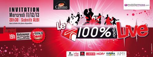 100% Radio - 100% Live Albi