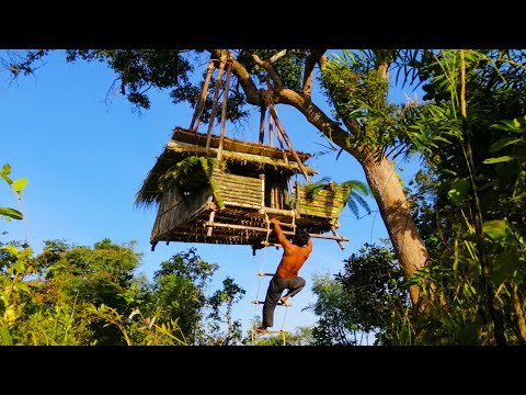 "Résultat de recherche d'images pour ""Building suspension house on the tree ( Ancient skill )"""