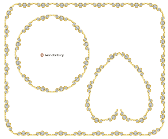 Cadre diamants