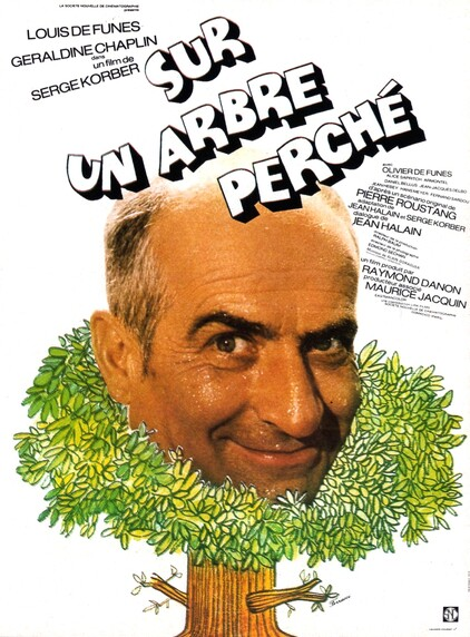 SUR UN ARBRE PERCHE - BOX OFFICE LOUIS DE FUNES 1971