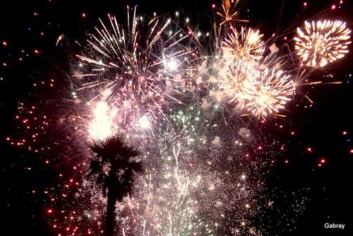 Le feu d'artifice au Barcarès
