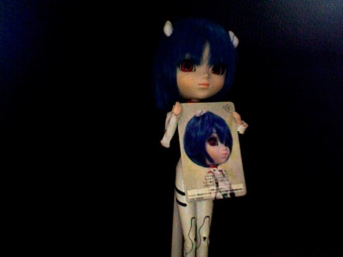 la pullip de ma soeur (Rei ayanami)