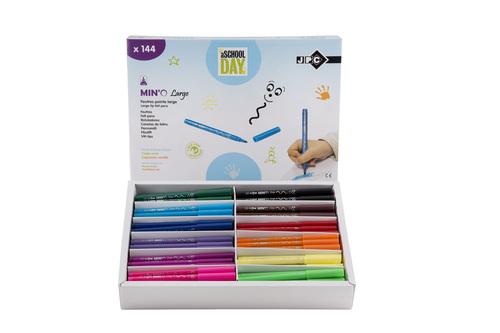 Feutres de coloriage (schoolpacks).