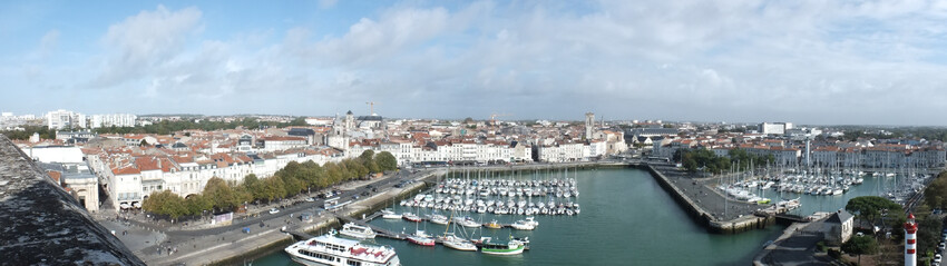 La Rochelle vu d'en haut..