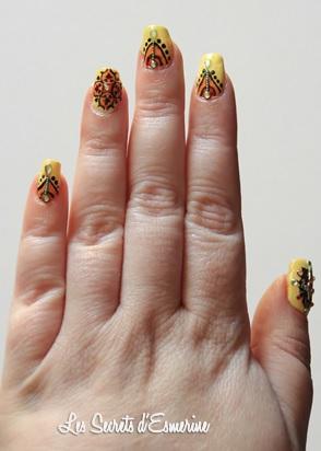 Nail Art d'Ailleurs & son Tutoriel spécial Stamping...