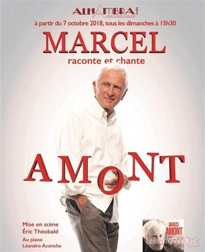 Marcel Amont à l'Alhambra avec la Mairie de Paris