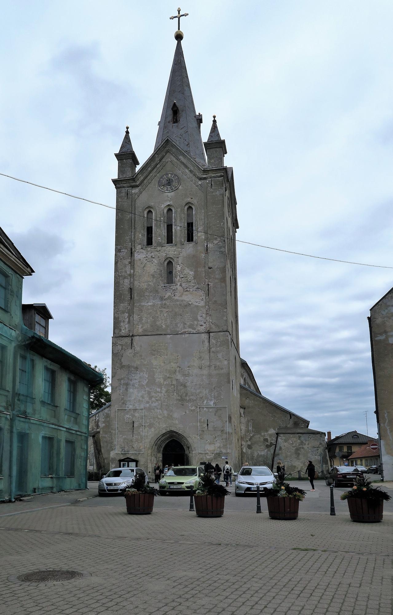 CĒSIS (LV) Eglise St Jean