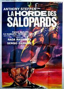 LA HORDE DES SALOPARDS BOX OFFICE FRANCE 1971