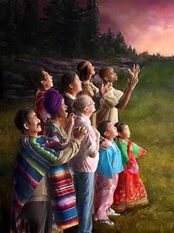 nous cherchons le Sauveur, le Seigneur Jésus-Christ