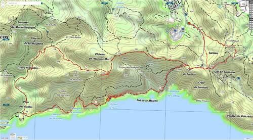 Calanques: l'Escu et Titou-Ninou