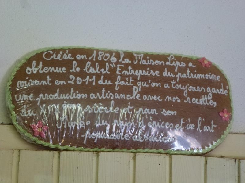 Le musée de la maison du pain d'épice Lips de Gertwiller