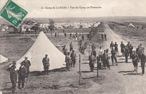 - Les Graulhétois au Larzac en 1911