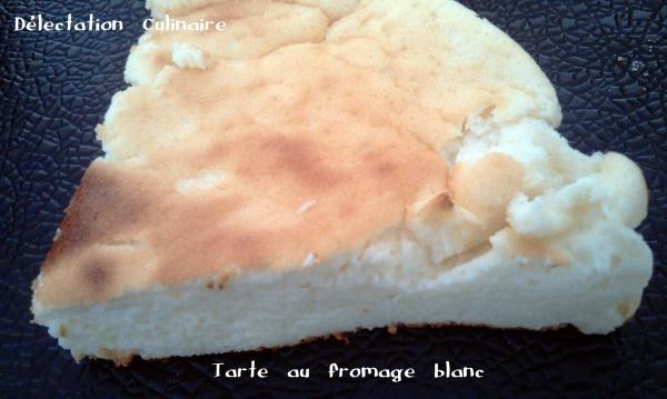 Tarte au fromage blanc et sondage ...