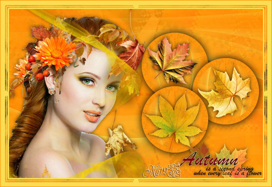 Autumn is a second spring