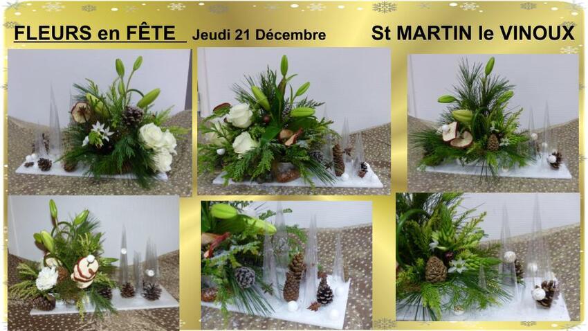 St Martin le Vinoux Fleurs en fête