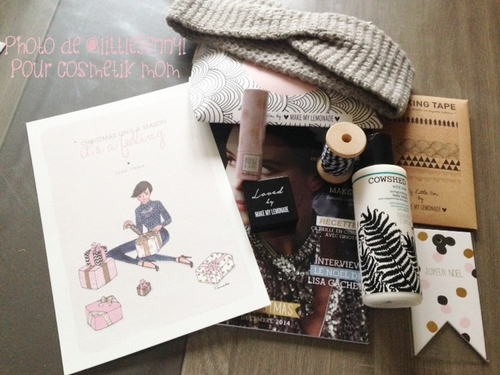 My Little Box by Make My Lemonade, Décembre 2014