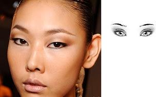 maquillage yeux d 39 asiatique. Black Bedroom Furniture Sets. Home Design Ideas