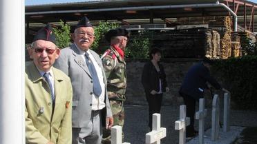 18 et 19 Mai - Des Anciens du B.M. 24 et des descendants étaient de retour à Obenheim