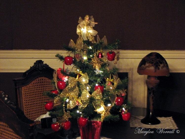 Noël en Alsace : Mon sapin